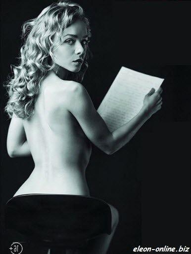 Эротическое фото в журнале Кристина